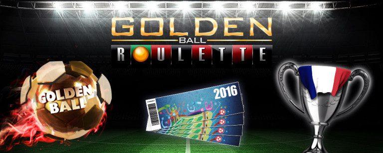 Spela Roulette hos Cherry och Vinn Euro 2016 biljetter