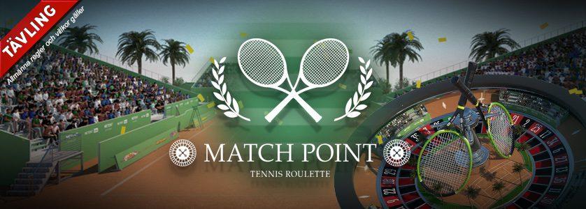 Spela Tennis Roulette och bli belönad med upp till 400 kr
